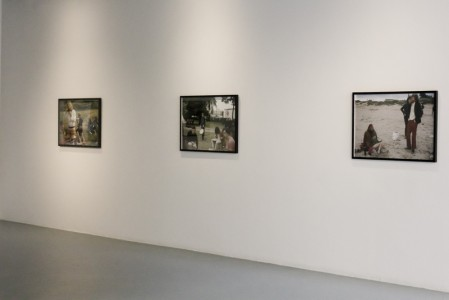 Pilgrimage from scattered points, installation view