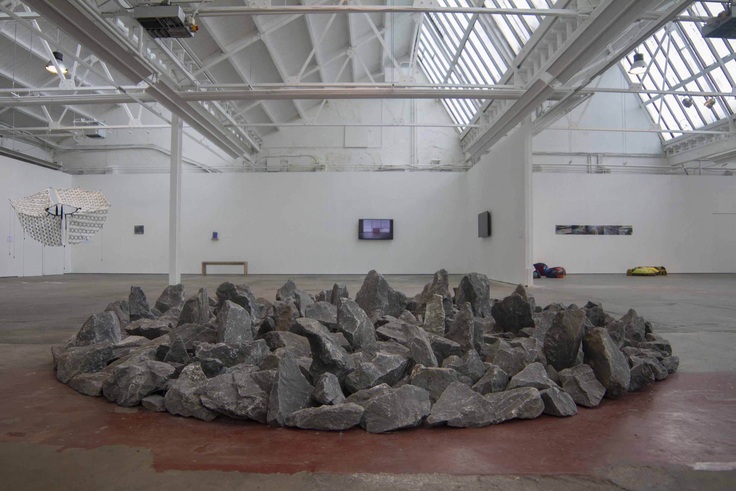 Richard Long  Kilkenny Limestone Circle,1991  Limestone  400 cm diameter   Collection Irish Museum of Modern Art Purchase, 1991