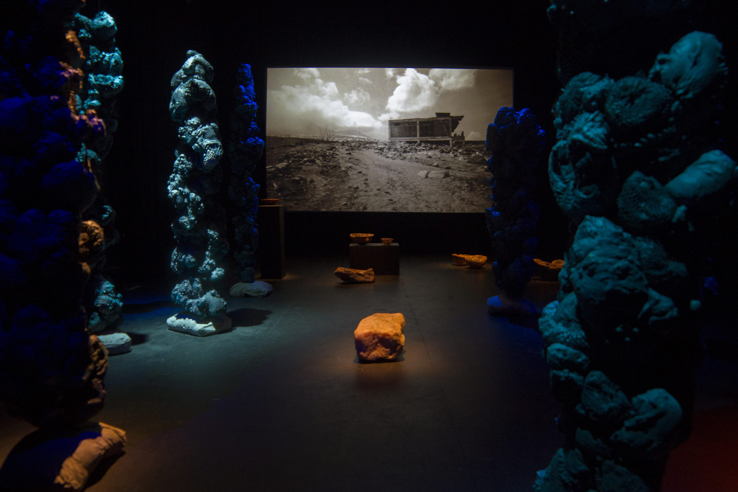 Clare Langan, Floating World, 2015, Ruth Lyons, Afterings, 2014, Maria McKinney Abyssals, 2014