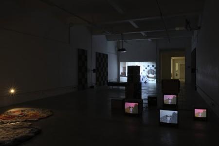 installation view, Bassam Al Sabah  & Michael Hanna