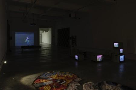 Installation view, Michael Hanna and Bassam Al Sabah