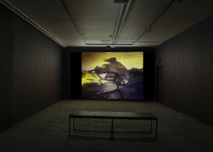 The Last of England, installation view